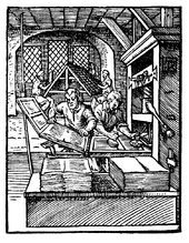 printing press from 1568