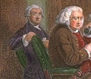 James Boswell with Samuel Johnson of