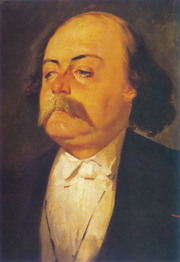 A portrait of Gustave Flaubert by Eugène Giraud