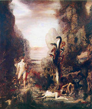 Hercules and the Lernaean Hydra by Gustave Moreau