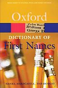 Oxford Dictionary of First Names