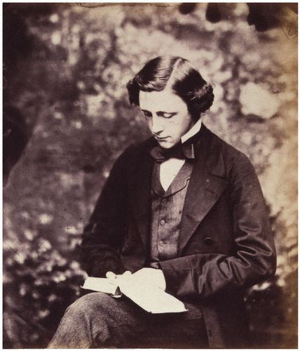 Lewis Carroll, a self-portrait, c. 1856